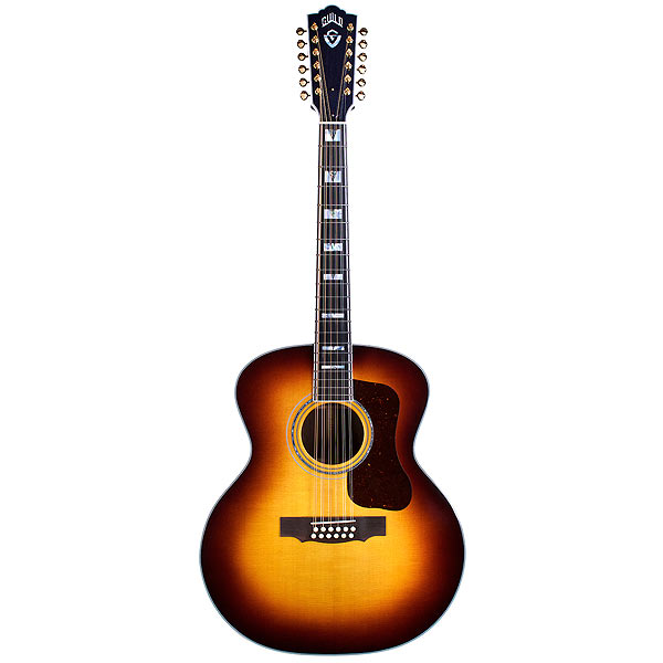 Guild F-512E Antique Sunburst